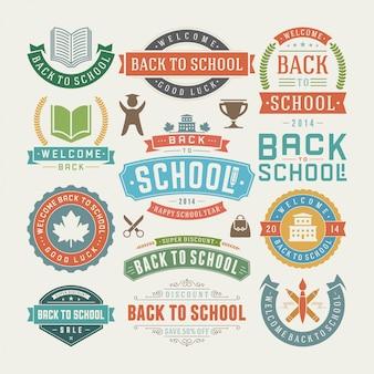 Retour à l'ensemble des étiquettes et badges de vente d'éléments scolaires