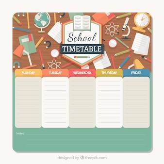 Retour à l'horaire de l'école