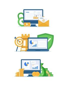 Retour sur investissement investissements financiers analyse marketing sécurité des dépôts