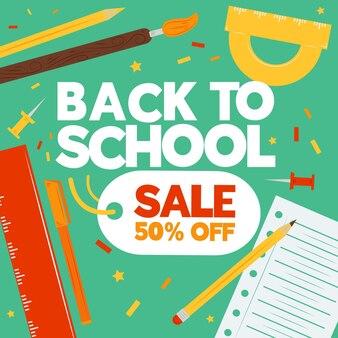 Retour à la main au concept de vente scolaire