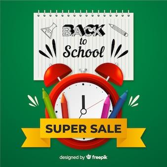 Retour à la vente de l'école