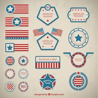 Retrait des badges américain