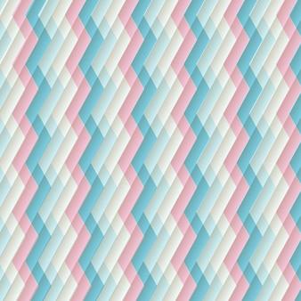Retro background zigzag