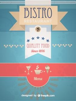 Rétro conception de menu bistro