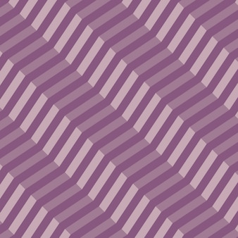 Retro geometric diagonal zigzag seamless pattern - images vectorielles