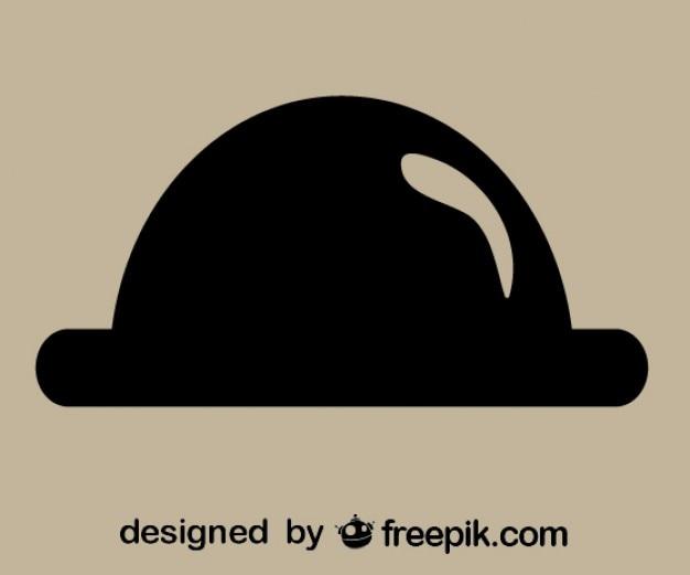 Rétro icône de chapeau
