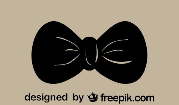 Rétro icône de nœud papillon
