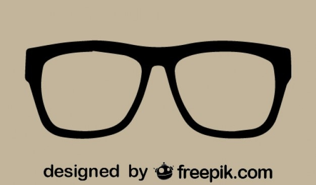 Rétro lunettes de vecteur icône