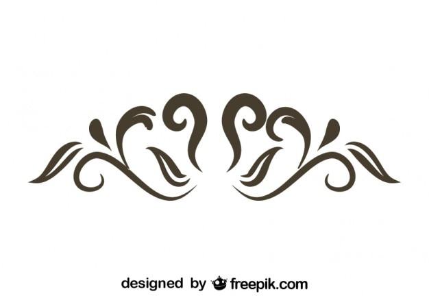 Rétro remous design élégant