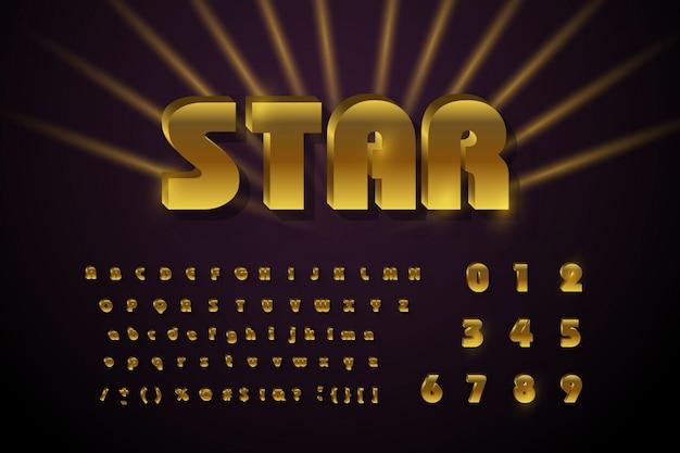 Rétro Signglossy Signe Rétro. Vecteur Premium
