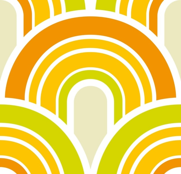Rétro vector wallpaper
