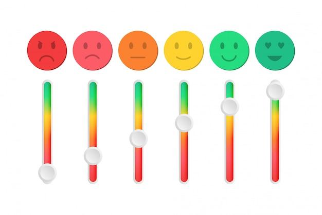 Rétroaction sous forme d'émotions.