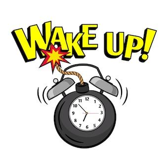 Réveil bombe horloge