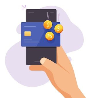Revenu de récompense de bonus de remise en argent sur le portefeuille de carte bancaire de crédit