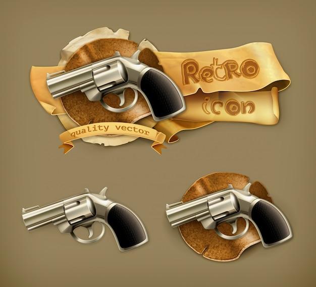 Revolver arme de poing