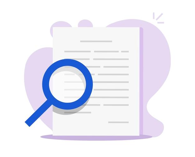 Revue d'audit des documents