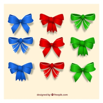 Ribbon collection colorée
