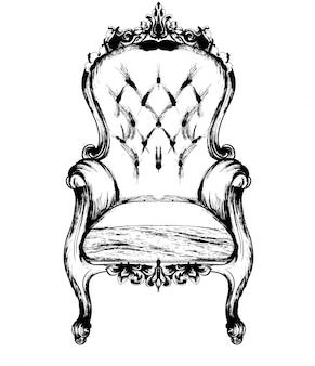 Rich fauteuil classique