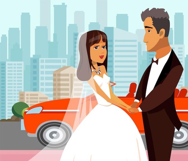 Riche juste marié