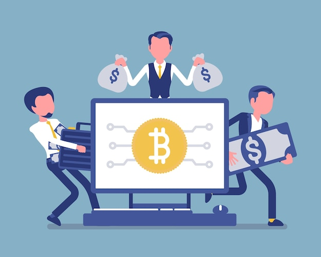 Richesse en crypto-monnaie