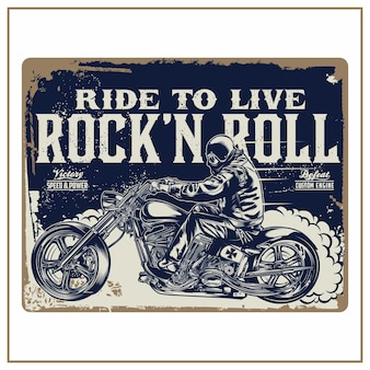 Ride to live rock 'n roll