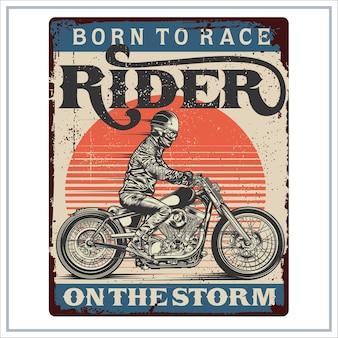 Rider sur la tempête