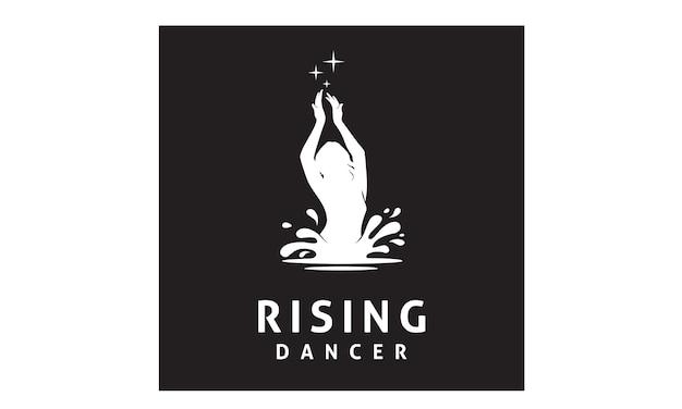 Rising sexy femme danseuse