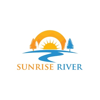 River logo design