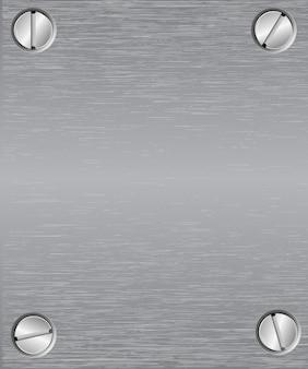 Rivets en acier riveté et vis fond métal