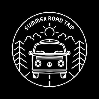 Road trip d'été