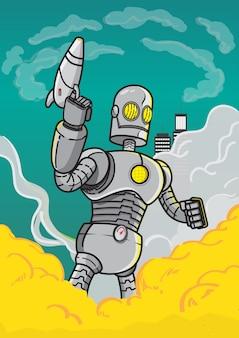 Robot en guerre