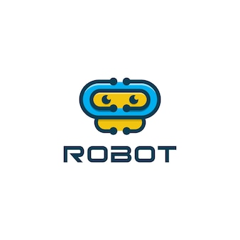 Robot icon aplication logo