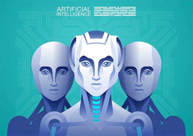 Robot d'intelligence artificielle