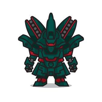 Robot mecha mignon