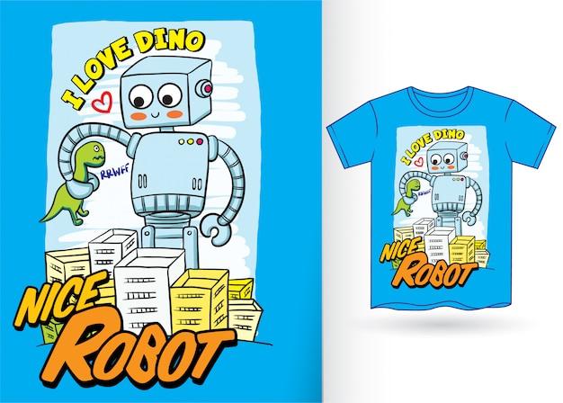 Robot pour tshirt