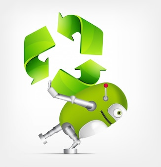 Robot vert