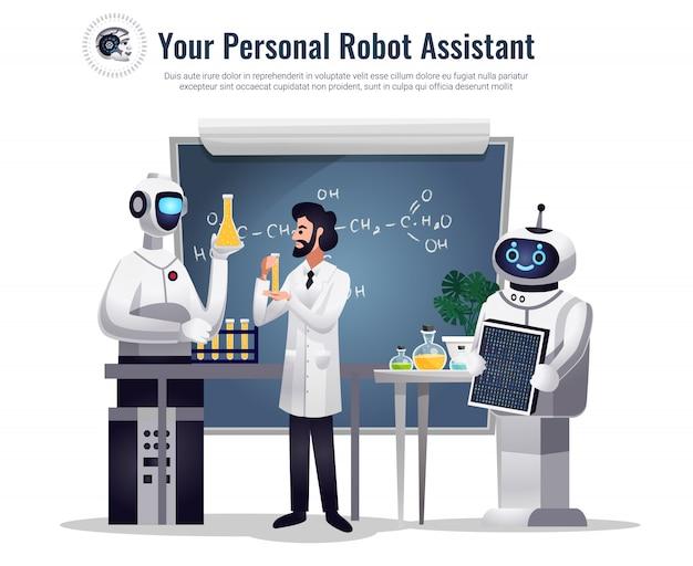 Des robots dans la recherche scientifique