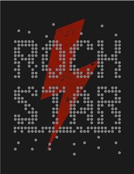 Rock and roll rockstar