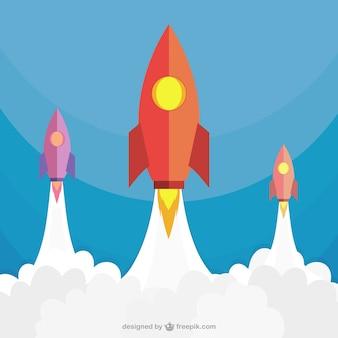 Rockets lancement
