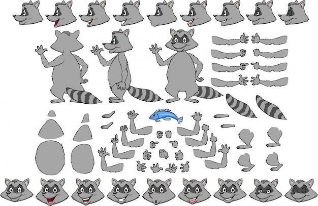 Roddy raccoon