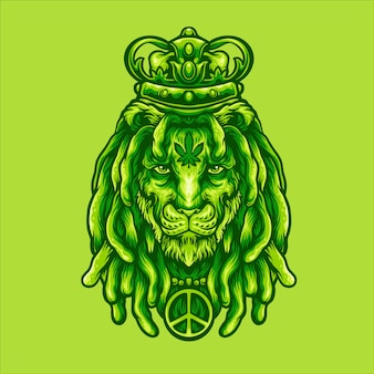 Roi lion marijuana
