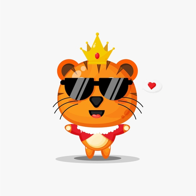 Roi tigre mignon