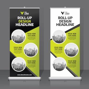 Roll up bannière modèle