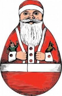 Rolly polly-santa