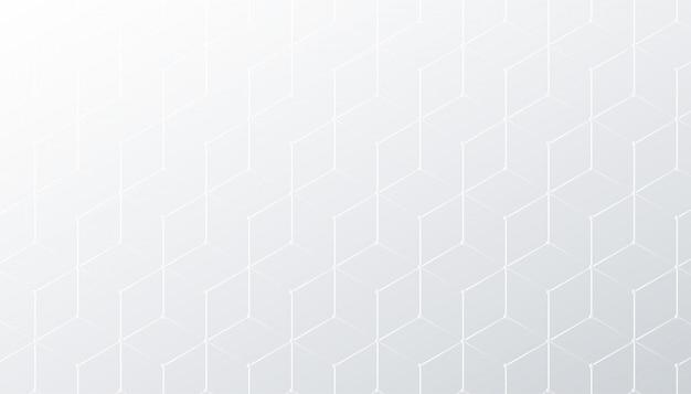 Rombus subtil motif de fond blanc et gris