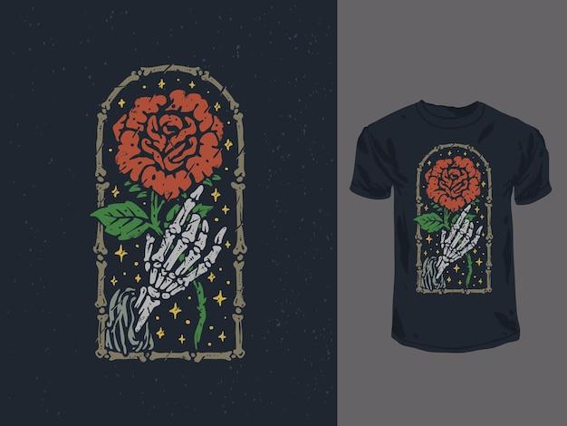 Roses faucheuses romantiques vintage