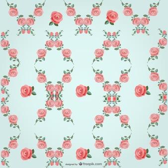 Roses modèle vectoriel