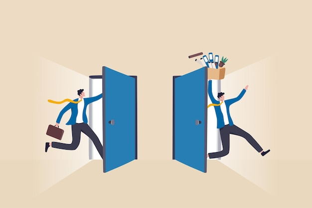 Rotation du personnel ou rotation des postes dans la gestion des personnes, ressources humaines pour gérer le recrutement de nouvelles personnes