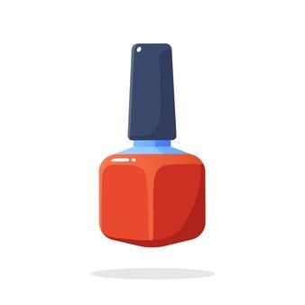 Rouge à lèvres rouge cosmétiques et maquillage élément de mode illustration vectorielle