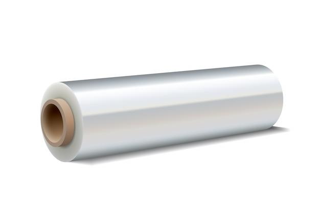 Rouleau de film étirable en plastique d'emballage